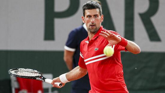 French Open: Djokovic souverän in der 2. Runde