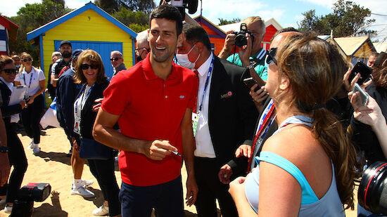 Wieder Corona-Wirbel um Novak Djokovic