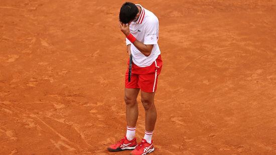 Djokovic in Rom erst frustriert, dann siegreich