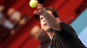 LIVE: Thiem fordert Rublev im Wien-Viertelfinale