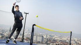 Thiem mit Show-Match über den Dächern Wiens