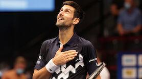LIVE: Djokovic jagt den nächsten Rekord