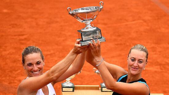 French Open: Mladenovic holt Doppel-Titel