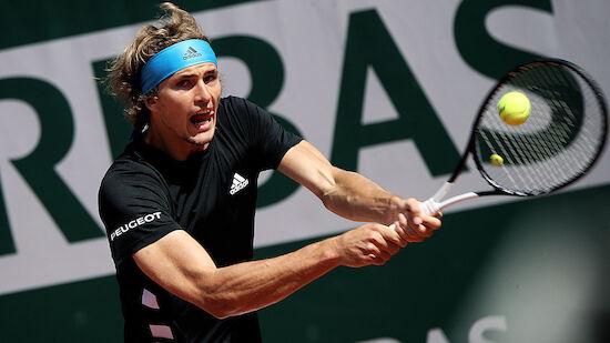 Alexander Zverev kämpft sich ins Achtelfinale