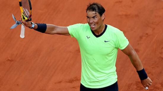Nadal rauscht gegen Sinner ins Viertelfinale