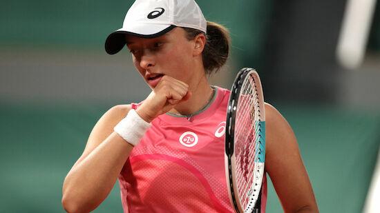 Swiatek komplettiert French-Open-Viertelfinale