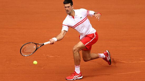 Djokovic nach 0:2-Satz-Rückstand weiter