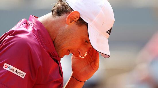 Dominic Thiem rutscht in Weltrangliste zurück