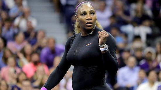 Serena Williams bei US Open wieder im Finale