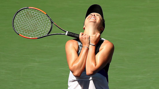 Svitolina erste Halbfinalistin bei US Open