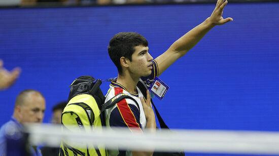 Youngster Alcaraz muss bei US Open aufgeben