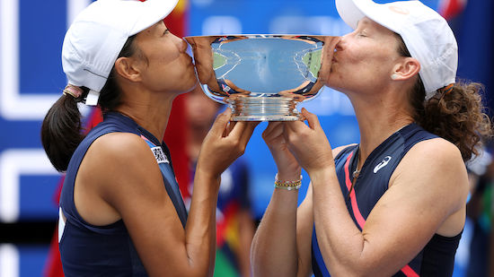 Stosur/Zhang holen Damen-Doppel-Titel bei US Open