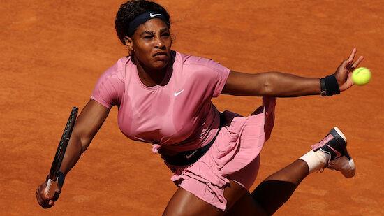 Serena Williams verliert bei 1000er-Jubiläum