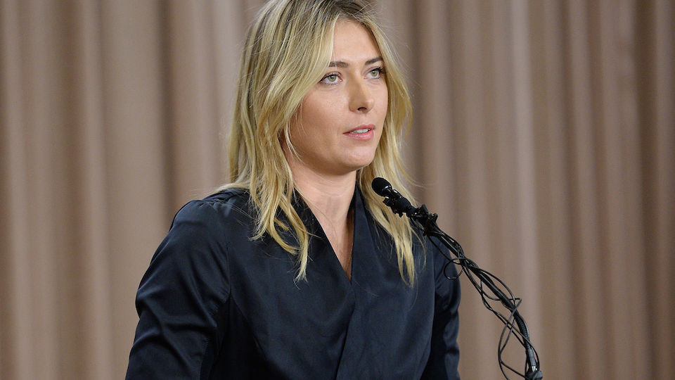 Die Bilder von Maria Sharapovas Doping-Geständnis