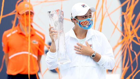 Barty gewinnt Turnier in Miami