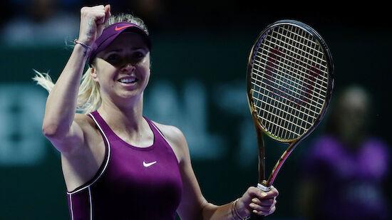 WTA-Finals: Siege für Svitolina und Wozniacki