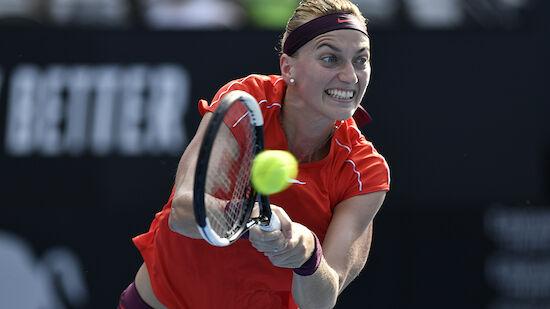 Kvitova gewinnt wie 2015 Turnier in Sydney