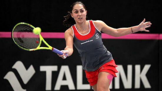 Tamira Paszek stürmt ins Viertelfinale