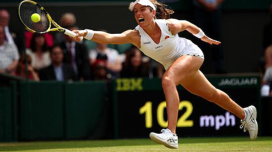 Wimbledon sucht die ersten Semifinalistinnen