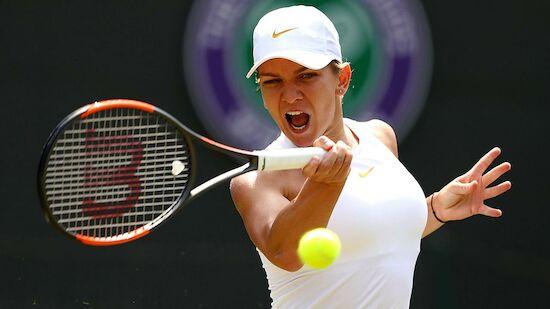 Topgesetzte Halep in 3. Wimbledon-Runde raus
