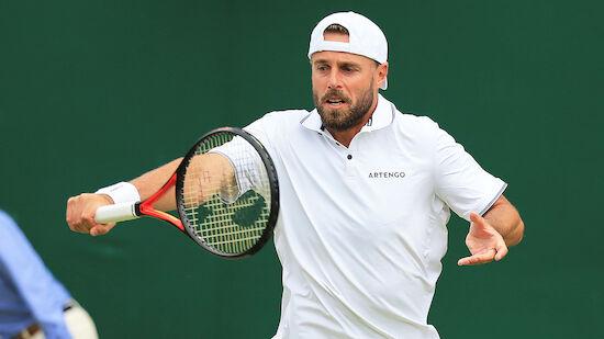 Wimbledon: Oliver Marach steigt in 2. Runde auf