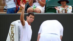 Bitter! Thiem scheitert in 1. Runde von Wimbledon