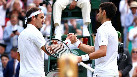Federer würdigt Djokovic: