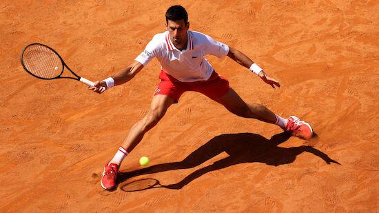 Djokovic stürmt ins Viertelfinale von Rom