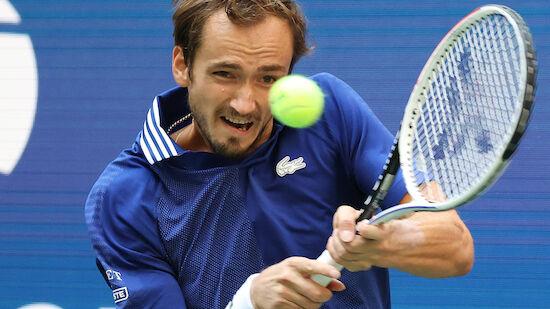 Medvedev steht im Finale der US Open