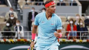 Nadal zieht mit Federer gleich