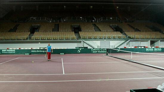 Davis-Cup-Finale angeblich fix in Innsbruck
