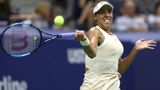Keys komplettiert Damen-Halbfinale bei US Open