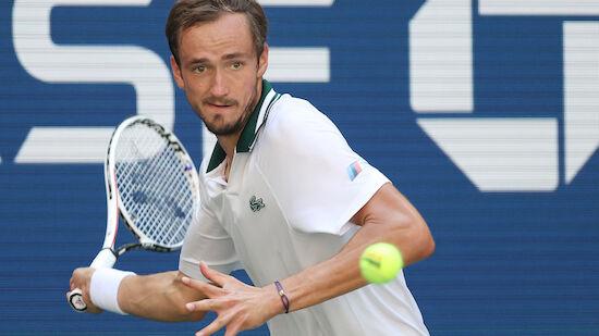 Medvedev bei US Open im Halbfinale