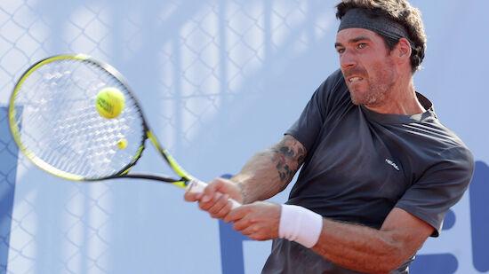 Novak-Match abgebrochen, Melzer ausgeschieden