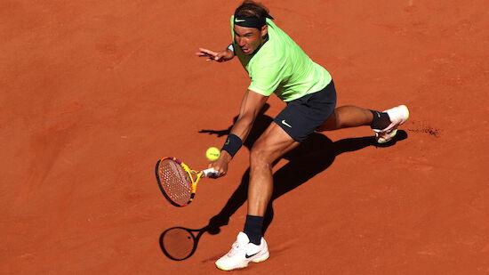 Nadal sicher in der 2. Paris-Runde