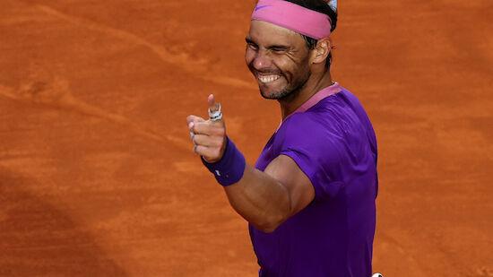 Nadal mit viel Selbstvertrauen in French Open