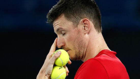 Novak und Rodionov verlieren in der 1. Quali-Runde