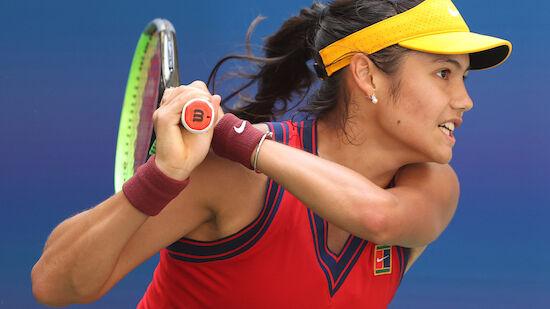 Raducanu schlägt auch Olympia-Siegerin Bencic