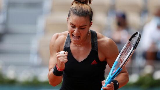 Krejcikova und Sakkari im Halbfinale von Paris