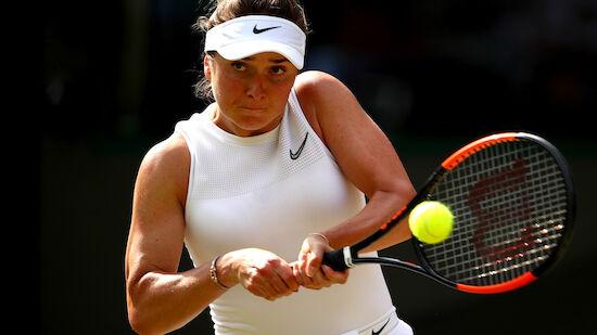 Svitolina erstmals in Grand-Slam-Halbfinale