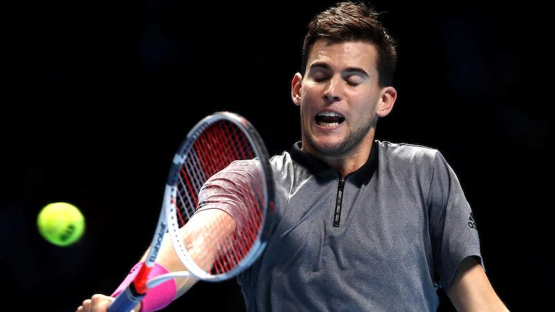 Thiem ohne Chance gegen Federer