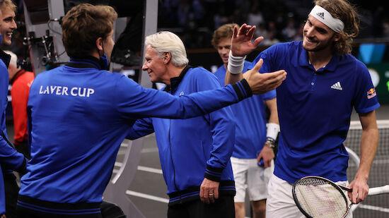 Europa steht vor Sieg im Laver Cup