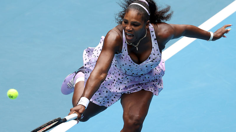Melbourne-Aus für Serena Williams