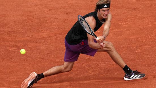 Zverev zieht in dritte French-Open-Runde ein