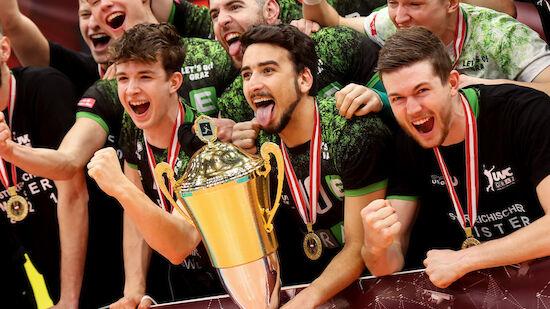 Erster Meistertitel für UVC Graz