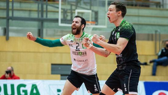 Graz überrascht zum Finalauftakt