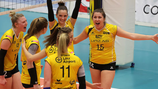 Steelvolleys stehen im Finale gegen UVC Graz