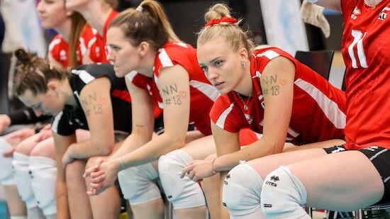 ÖVV-Frauen verpassen die Volleyball-EM