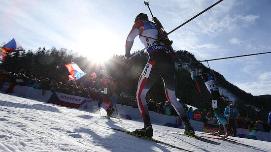 Kälte! Biathlon-Sprints in Canmore verlegt