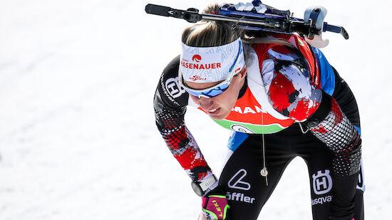 Biathlon: ÖSV-Damen-Quartett in Top 10